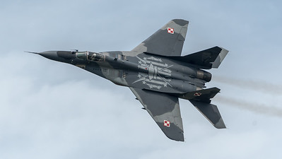 Polish Air Force / Mikoyan Gurevich MiG-29 Fulcrum / 108