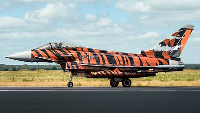 German Air Force TLG74 / Eurofighter Typhoon / 30+09 / Bronze Tiger