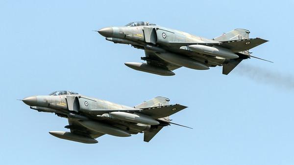 Hellenic Air Force 338 Mira / McDonnell Douglas F-4E Phantom II / 01512 & 01534