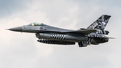 Belgian Air Force 349 Squadron / General Dynamics F-16AM / FA-70 / 75 Years 349th Livery
