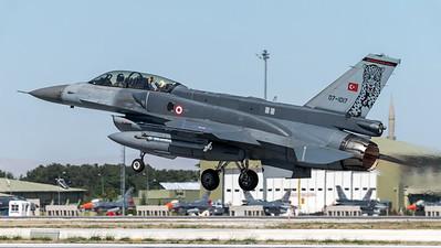 Turkish Air Force 181 Filo / Lockheed Martin F-16D Block 50+ / 07-1017