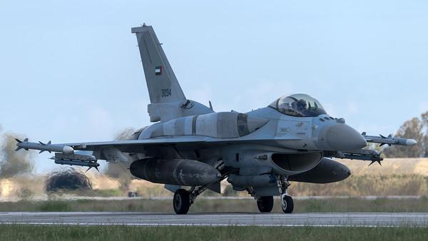 UAE Air Force Shaheen / Lockheed Martin F-16E Fighting Falcon / 3034