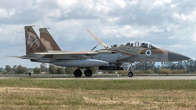 Israeli Air Force 69 Squadron / Boeing F-15I Raam / 255