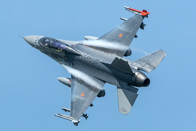Belgian Air Force 1st Squadron / General Dynamics F-16BM / FB-22
