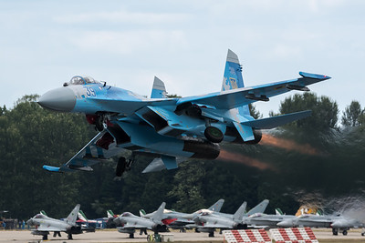 Ukraine Air Force / Sukhoi Su-27P Flanker-B / 39