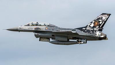 Belgian Air Force OCU Squadron / General Dynamics F-16BM / FB-24 / 30 Years OCU Livery