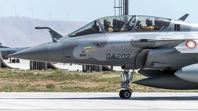 Qatar Amiri Air Force / Dassault Rafale DQ / QA-202