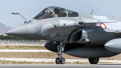Qatar Amiri Air Force / Dassault Rafale EQ / QA-210