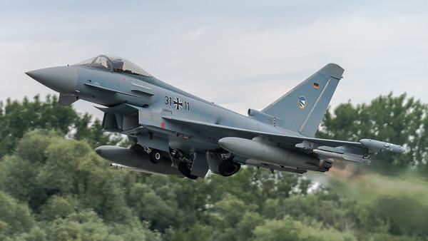 Luftwaffe TaktLwG 74 / Eurofighter / 31+11