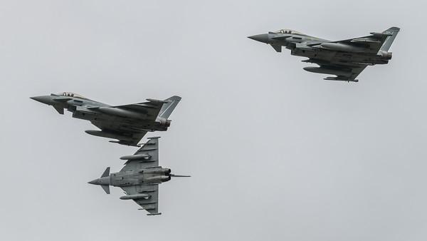 Royal Air Force / Eurofighter Typhoon & 924 % 425 & 343
