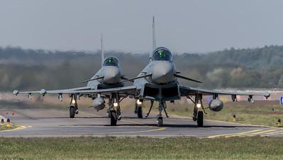 German Air Force TLG74 / Eurofighter Typhoon / 30+95, 30+39