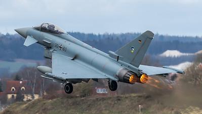 German Air Force TLG74 / Eurofighter Typhoon / 30+80