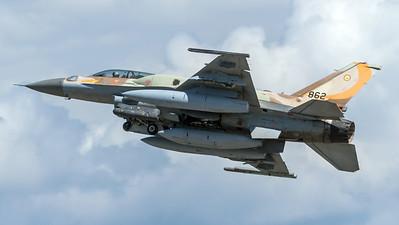 Israeli Air Force 107 Squadron / Lockheed Martin F-16D Block 52 / 862
