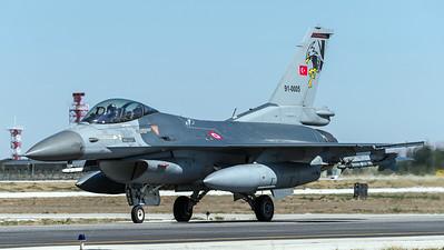 Turkish Air Force 182 Filo / Lockheed Martin F-16C Block 40 / 91-0005