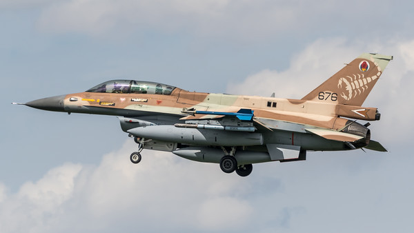 Israeli Air Force 105 Squadron / Lockheed Martin F-16D Block 40 / 676