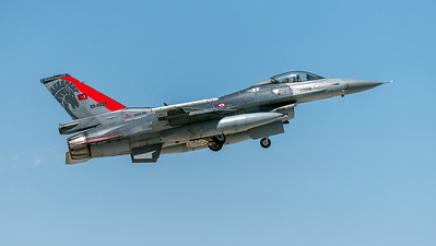 Turkish Air Force 132 Filo / Lockheed Martin F-16C Block 40 / 89-0028 / Anatolian Eagle Aggressor Livery