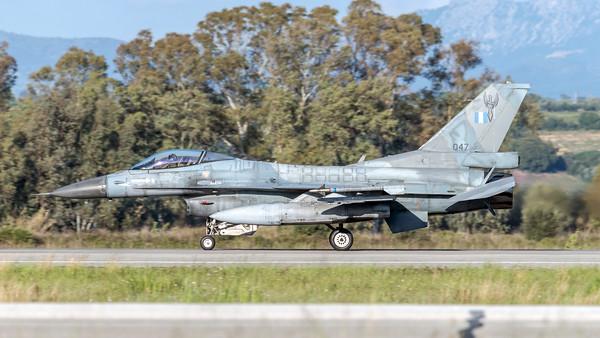 Hellenic Air Force 347 Mira / Lockheed Martin F-16C Fighting Falcon / 047