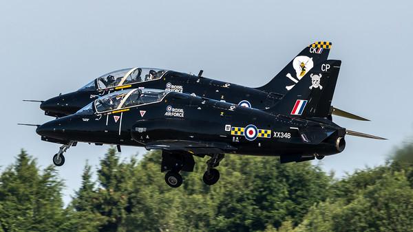 Royal Air Force 100 Squadron / BAe Hawk T.1 / XX346 & XX285