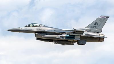 USAF 510 FS / Lockheed Martin F-16C-40 Fighting Falcon / 89-2026 AV
