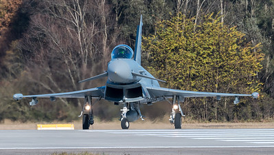 German Air Force JG74 / Eurofighter Typhoon / 30+74