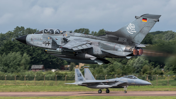 GAF TLG31 / PANAVIA Tornado IDS / 46+50 / 60 Jahre Luftwaffe