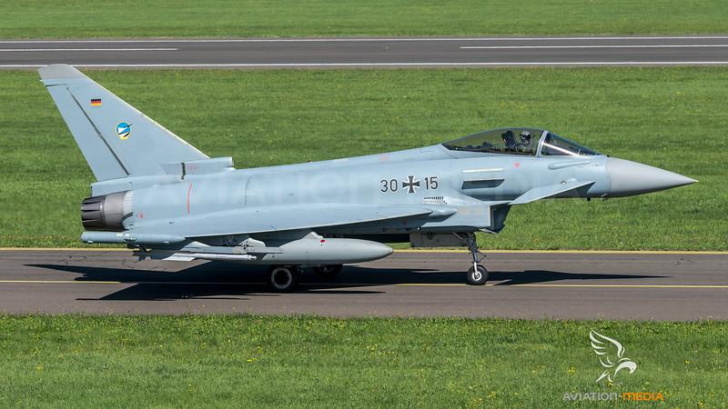 German Air Force TLG-74 / Eurofighter Typhoon / 30+15