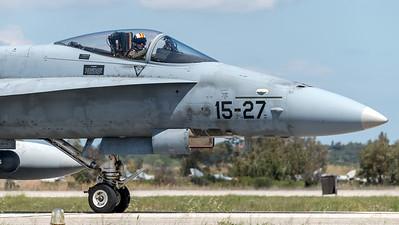 Ejército del Aire Ala 15 / McDonnell Douglas EF-18A Hornet / 15-27 C.15-40