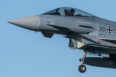 German Air Force TLG74 / Eurofighter Typhoon / 30+76