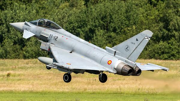 Spanish Air Force Ala 11 / Eurofighter Typhoon / C.16-33 11-12