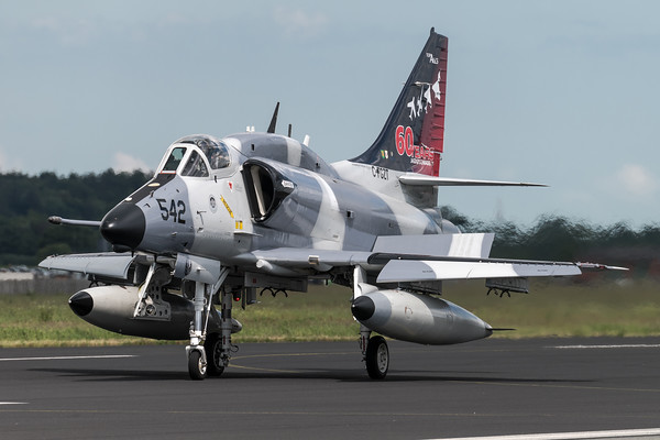 Top Aces / Douglas A-4N Skyhawk / C-FGZT / 60 Years Jagdgeschwader 71