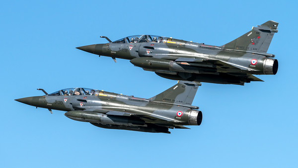 French Air Force EC-3/3 / Dassault Mirage 2000D/ 680 3-XM & 627 3-JO
