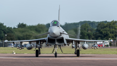 Royal Air Force / Eurofighter Typhoon / ZK356