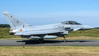 Spanish Air Force Ala 11 / Eurofighter Typhoon / C.16-51 11-17