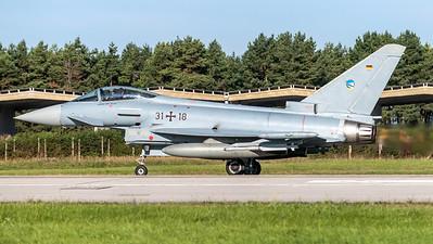 German Air Force TLG 74 / Eurofighter Typhoon / 31+18