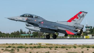 Turkish Air Force 132 Filo / Lockheed Martin F-16D Block 40 / 92-0023 / Anatolian Eagle Aggressor Livery