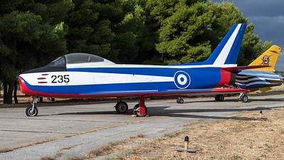 HAF 341 Mira / Canadair F-86E(M) Sabre / 235 / Hellenic Flames Livery