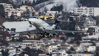 Embraer Legacy 500 D-BJKP @ INN (Innsbruck)