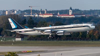 Royal Thai Air Force / Airbus A340-541 / HS-TYV