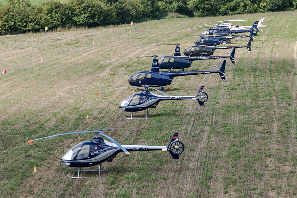 Heli Days 2018 Aerial View