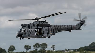 Royal Air Force / Westland Puma HC.2 / XW224 / Tigermeet Livery