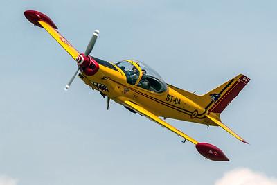 Belgian Air Force Air Component Training / SIAI Marchetti SF-260MB / ST-04