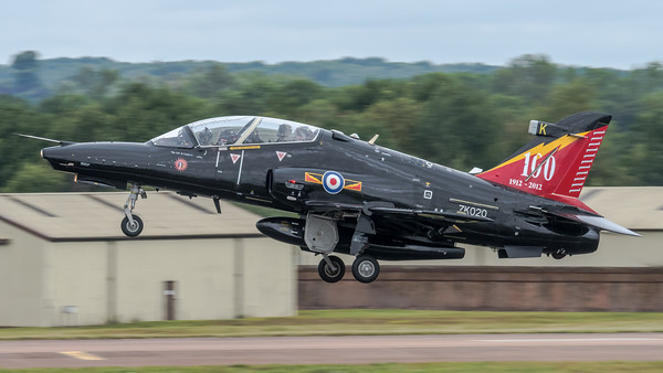 Royal Air Force  / BAe System Hawk T.2 / ZK020 / 100 Years Livery