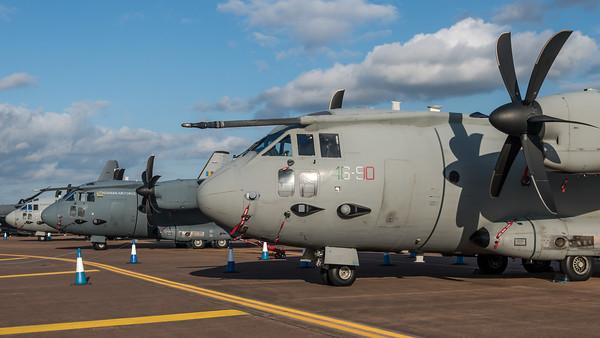 Italian Air Force & Lithuanian Air Force & Romanian Air Force / Alenia C-27J Spartan / MM62225 46-90 & 06 & 2706