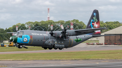 Pakistan Air Force / Lockheed C-130B Hercules / 3766 / First In Last Out Livery