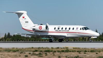 Turkish Air Force 212 Filo / Cessna 650 Citation VIII / 005
