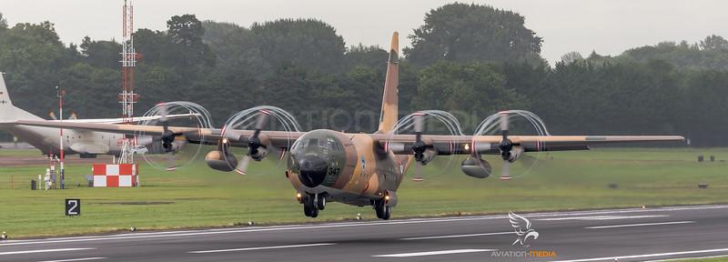 Royal Jordanian Air Force / Lockheed C-130H Hercules / 347