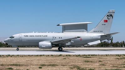 Turkish Air Force 131 Filo / Boeing B737-7ES Peace Eagle / 13-001