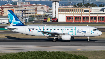 Azores Airlines / Airbus A320-214 / CS-TKQ / Natural Livery