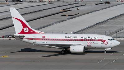 Tunis Air / Boeing B737-6H3 / TS-IOP / Retro Livery