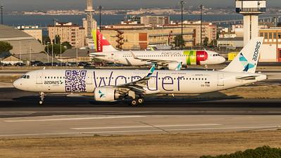 Azores / Airbus A321-253N / CS-TSG / Wonder Livery